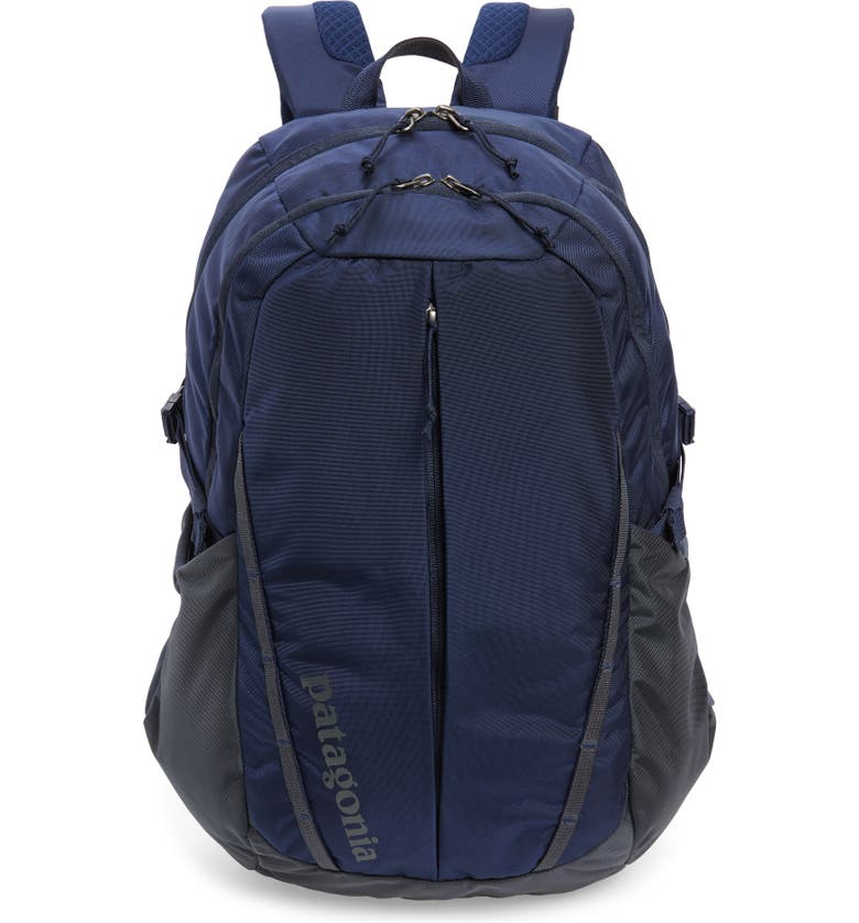 PATAGONIA 28 Liter Refugio Nylon Backpack, Main, color, CLASSIC NAVY