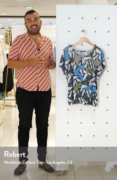 Canopy Linen Blend Top, sales video thumbnail