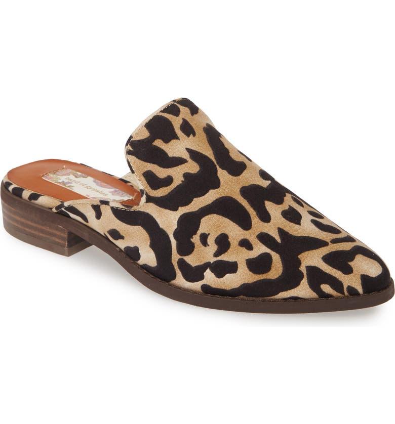 sleek first look online for sale Skipper Snake Embossed Loafer Mule