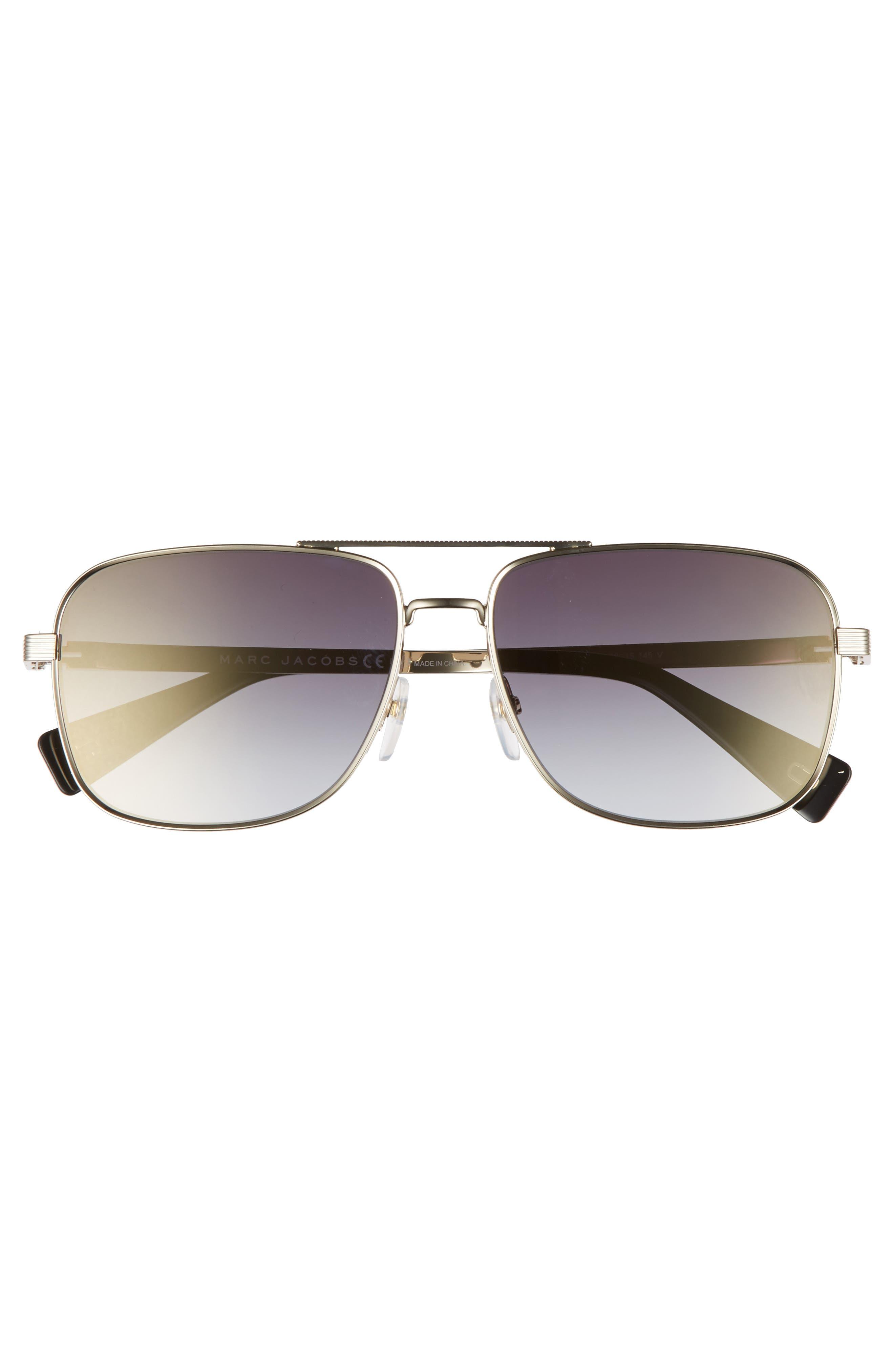 ,                             59mm Gradient Navigator Sunglasses,                             Alternate thumbnail 6, color,                             711
