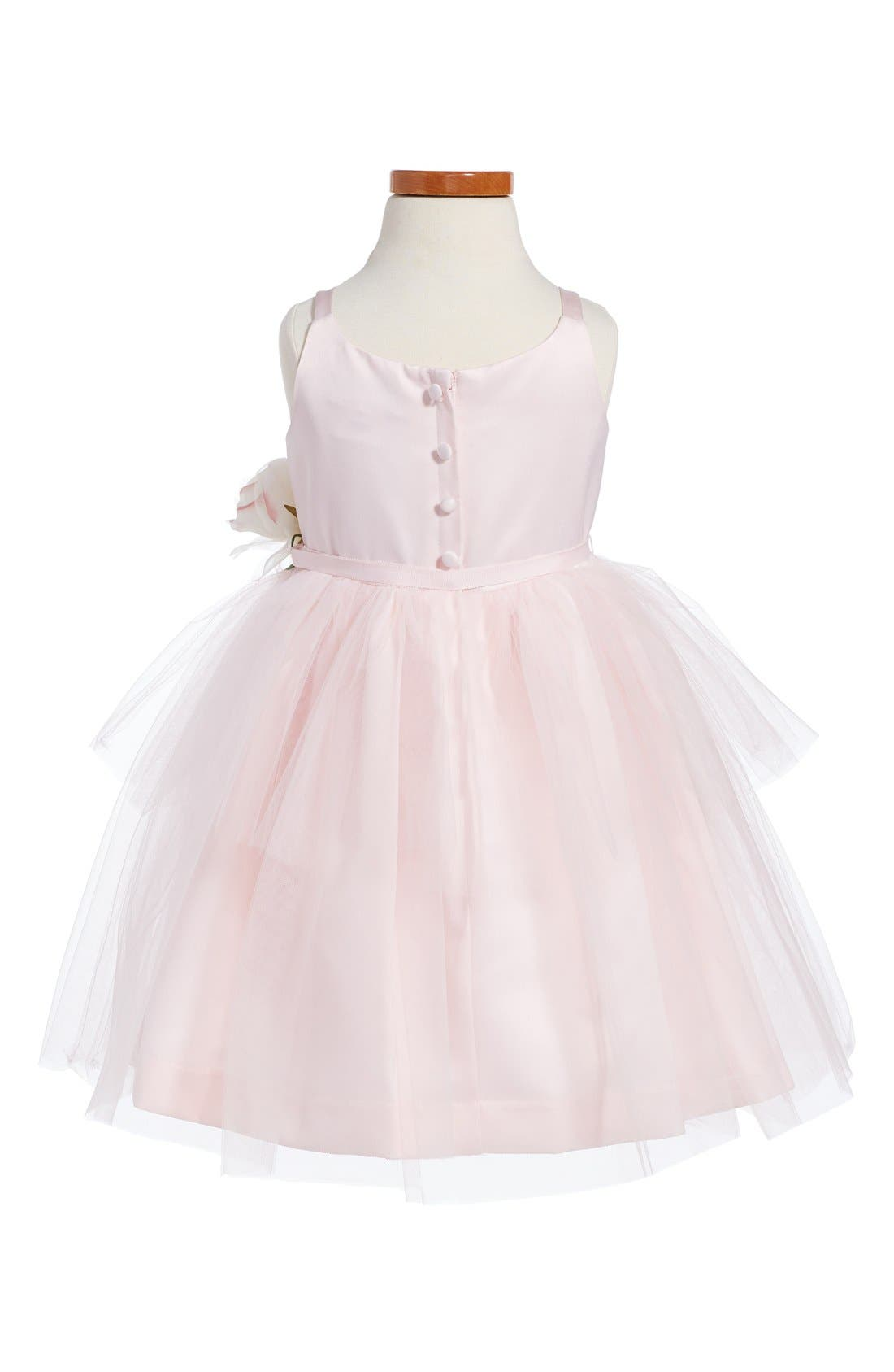 ,                             Tulle Ballerina Dress,                             Alternate thumbnail 2, color,                             BLUSH PINK