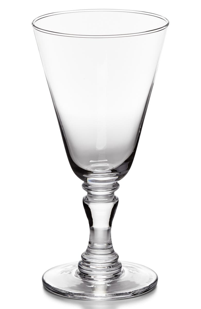 RALPH LAUREN Ethan White Wine Glass, Main, color, CLEAR
