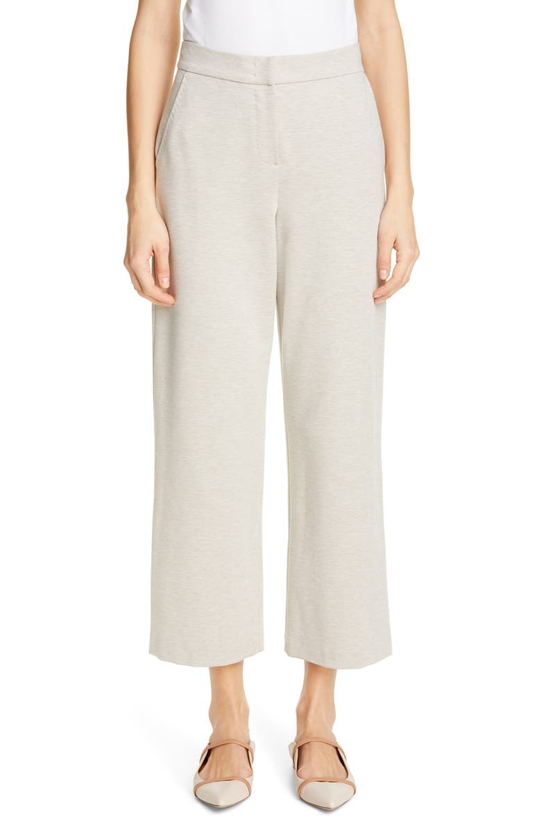MAX MARA Adelchi Crop Pants, Main, color, BEIGE