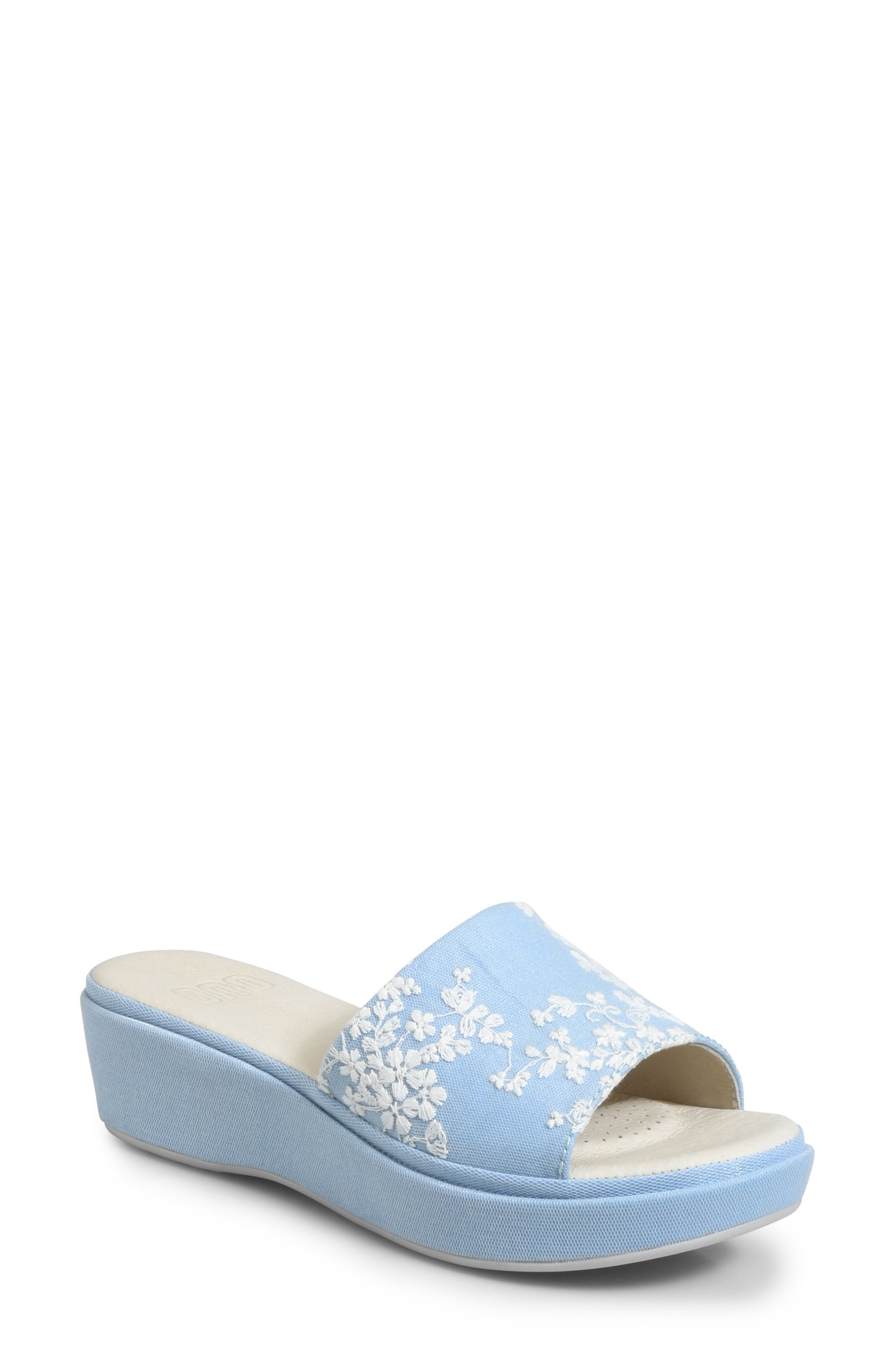 Ono Dive Platform Sandal, Blue
