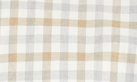 IVORY NEUTRAL HEATHER CHECK