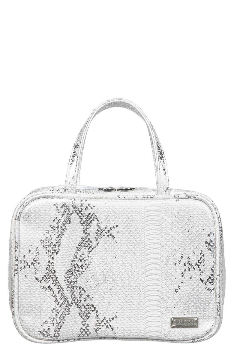 STEPHANIE JOHNSON Cairo White Sands ML Traveler Makeup Bag, Main, color, No Color