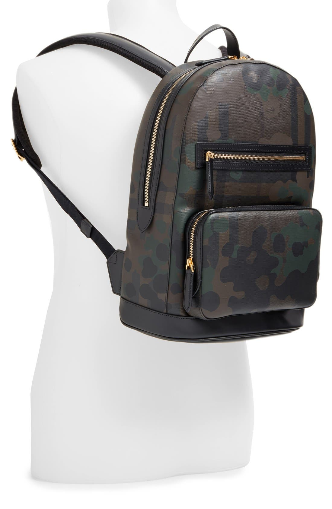 ,                             'Marden' Camo Print Backpack,                             Alternate thumbnail 3, color,                             207