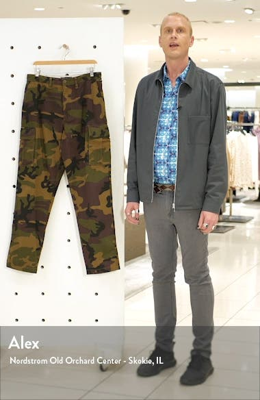 Nailhead Camo Cargo Pants, sales video thumbnail