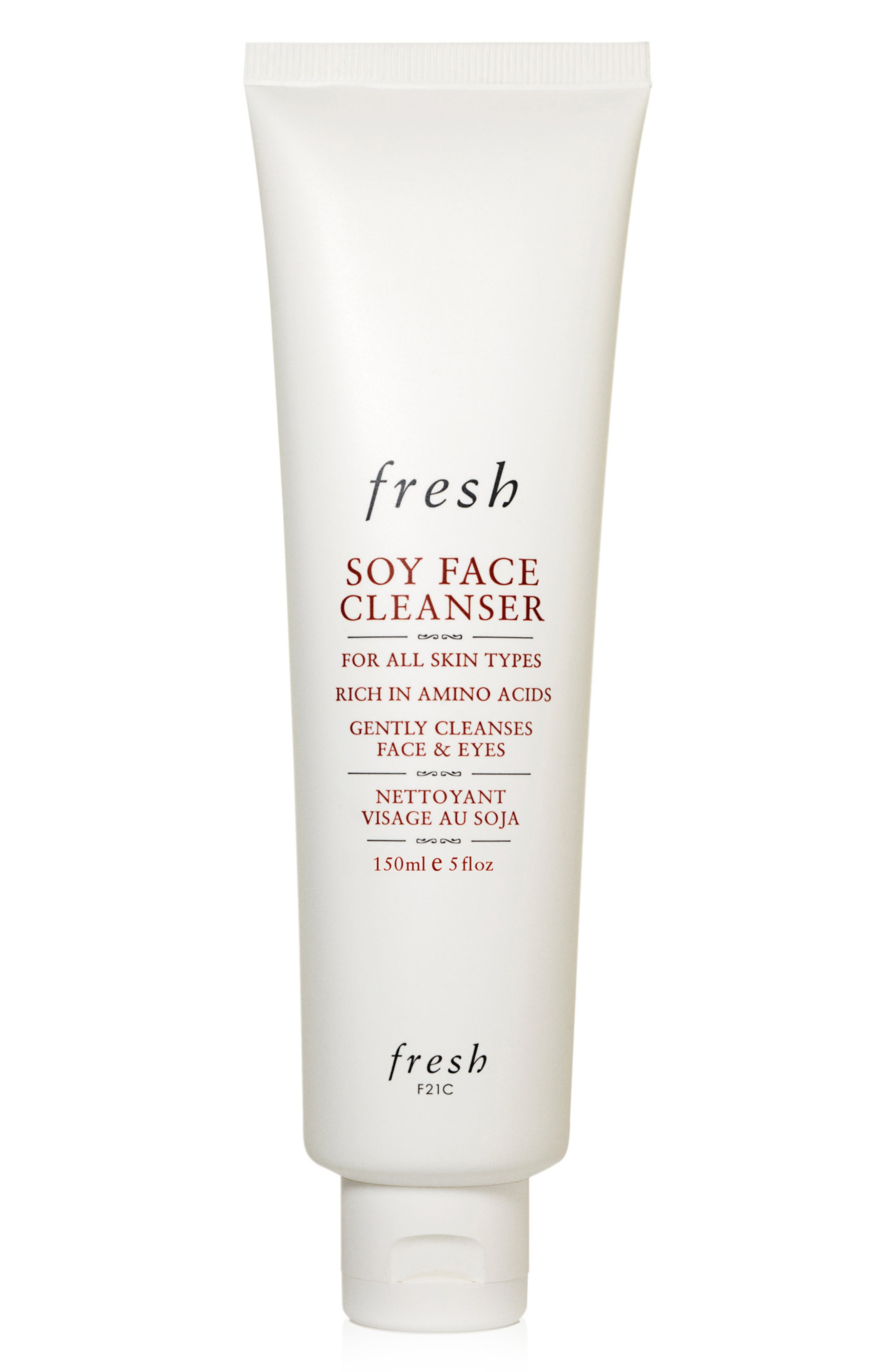Fresh Soy Face Cleanser Makeup Removing Face Wash