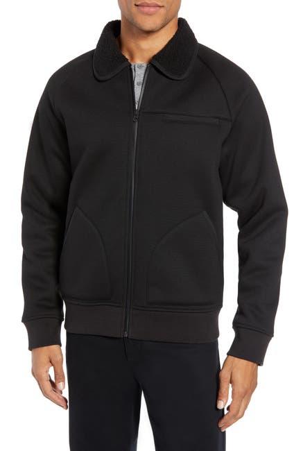 Image of Vince Faux Fur Collar Jacket