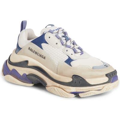 Balenciaga Triple S Sneaker, Purple
