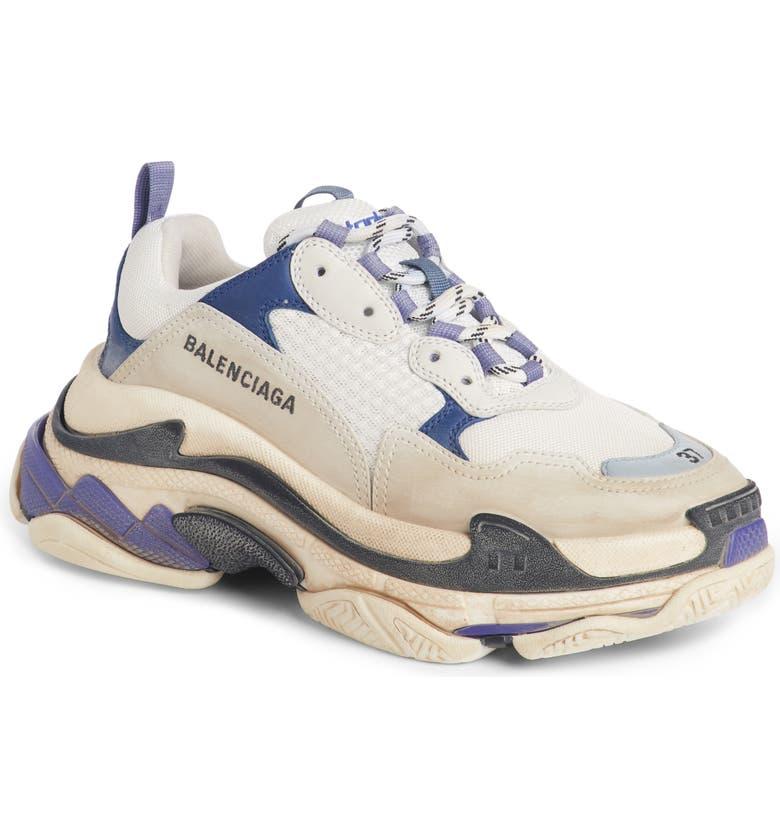 BALENCIAGA Triple S Sneaker, Main, color, 500
