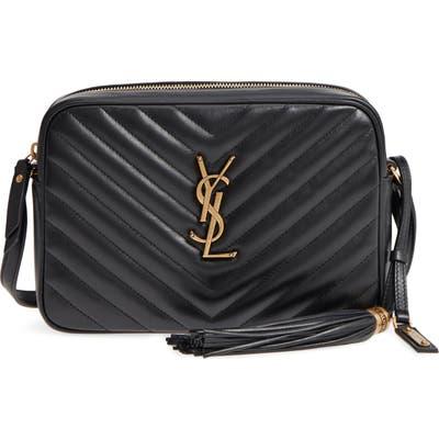 Saint Laurent Medium Lou Calfskin Leather Camera Bag -