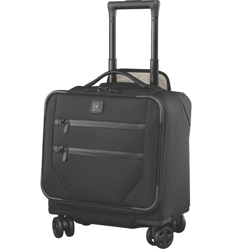 VICTORINOX SWISS ARMY<SUP>®</SUP> Lexicon 2.0 Dual Caster Wheeled Boarding Tote, Main, color, BLACK