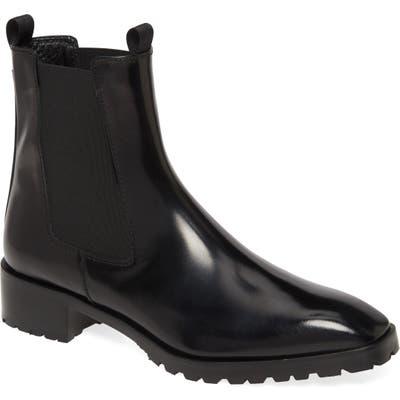 Aeyde Karlo Chelsea Boot, Black