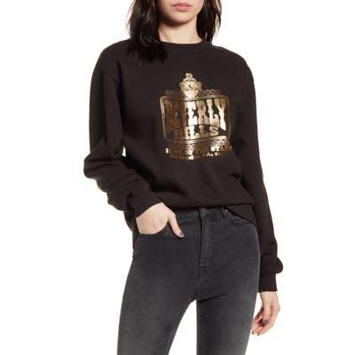Neema California Beverly Hills Graphic Sweatshirt, Black