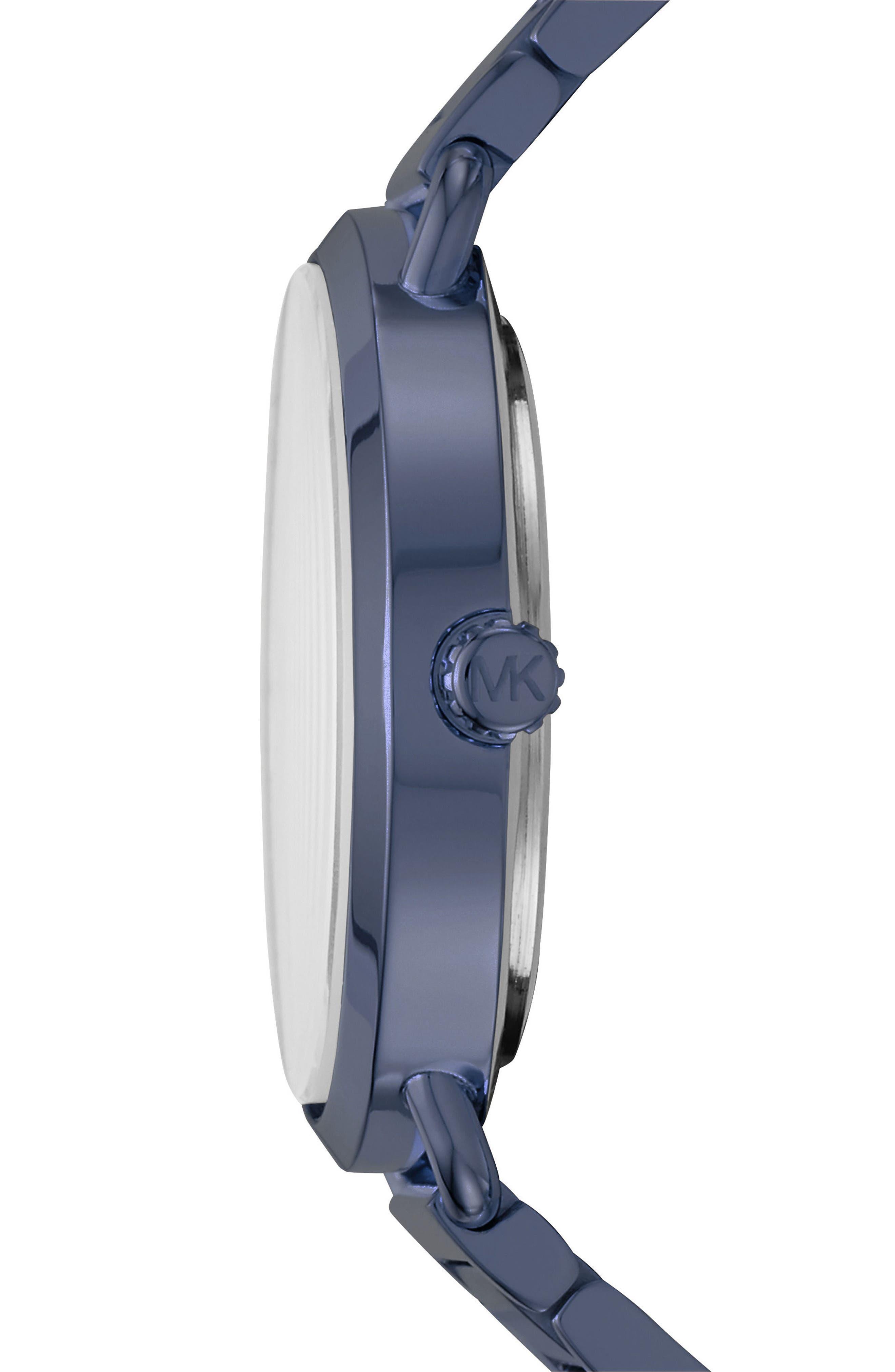 ,                             Portia Round Bracelet Watch, 36.5mm,                             Alternate thumbnail 12, color,                             400