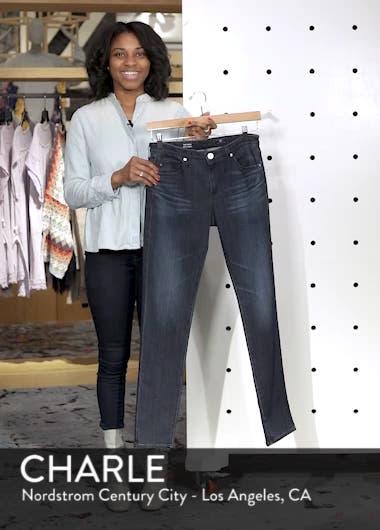 'The Prima' Mid Rise Cigarette Skinny Jeans, sales video thumbnail