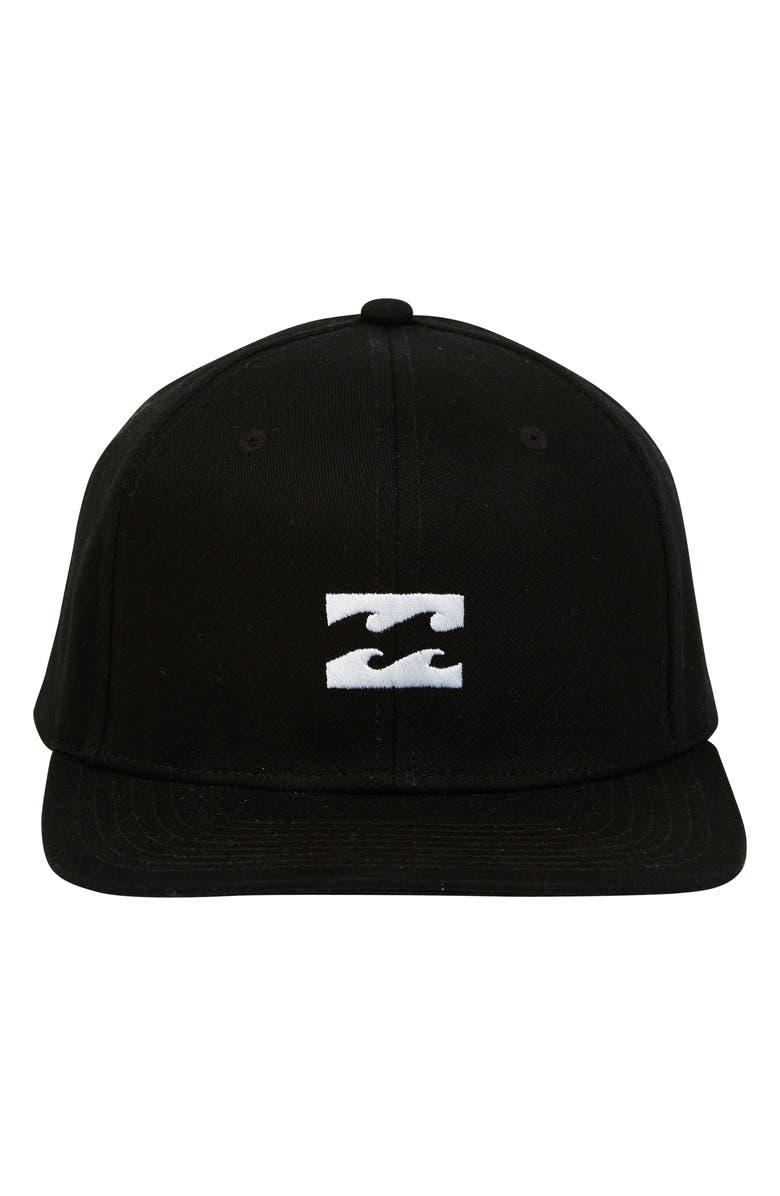 BILLABONG All Day Snapback Cap, Main, color, 001