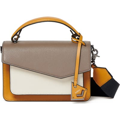 Botkier Cobble Hill Leather Crossbody Bag - Brown