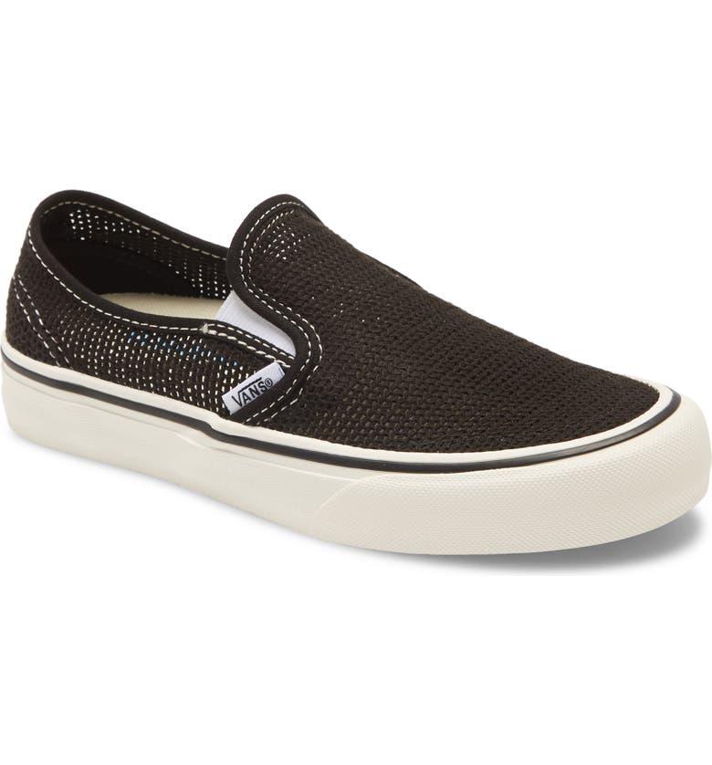 VANS Slip-On Mesh SF Sneaker, Main, color, 001