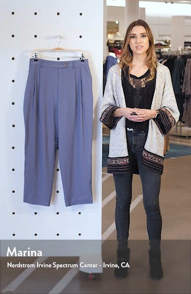 Pleated Cigarette Trousers, sales video thumbnail