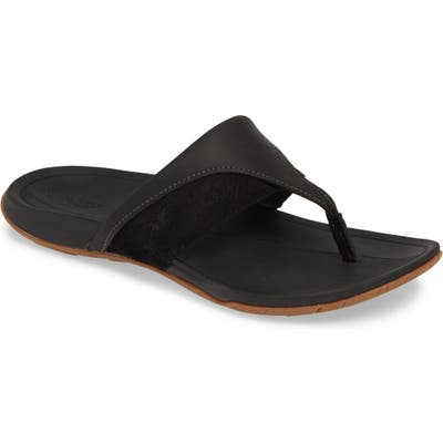 Chaco Hermosa Flip Flop, Black