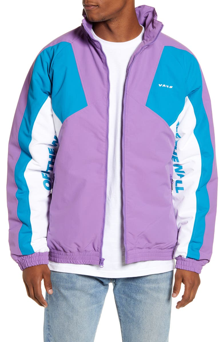 VANS Hi-Point Colorblock Hooded Coat, Main, color, 500