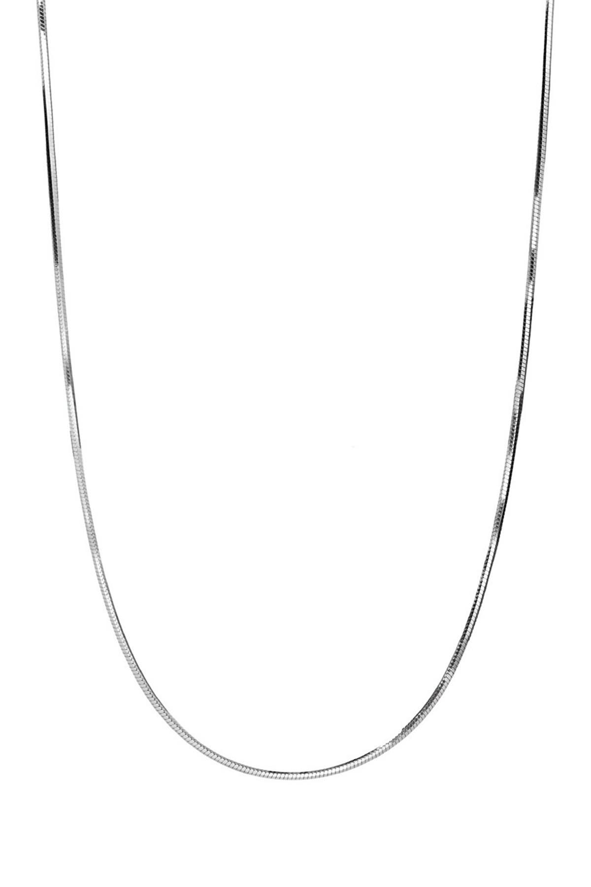 Image of Best Silver Inc. Sterling Silver Snake Chain Necklace
