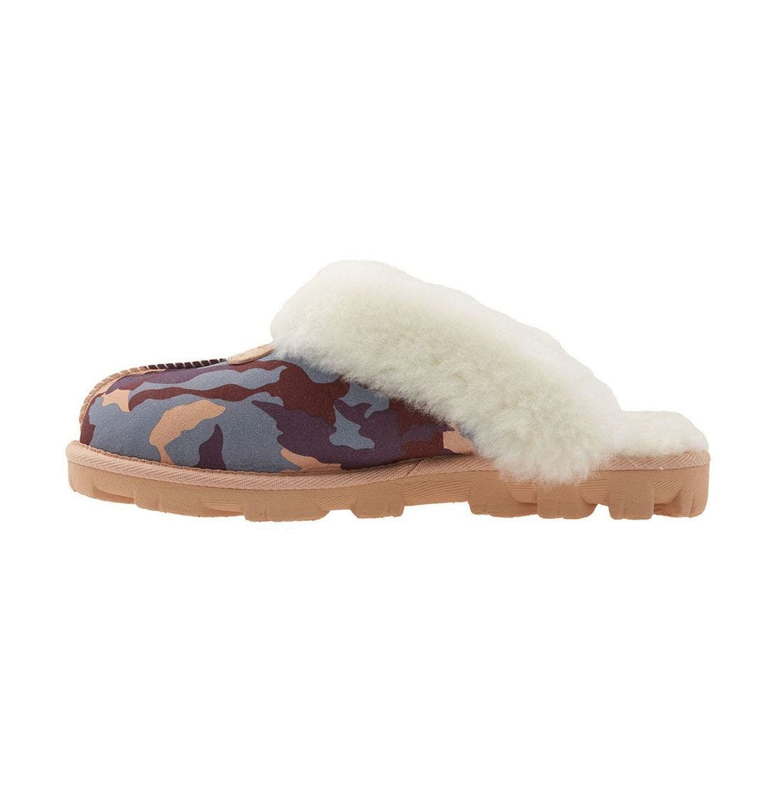 ,                             Genuine Shearling Slipper,                             Alternate thumbnail 142, color,                             650