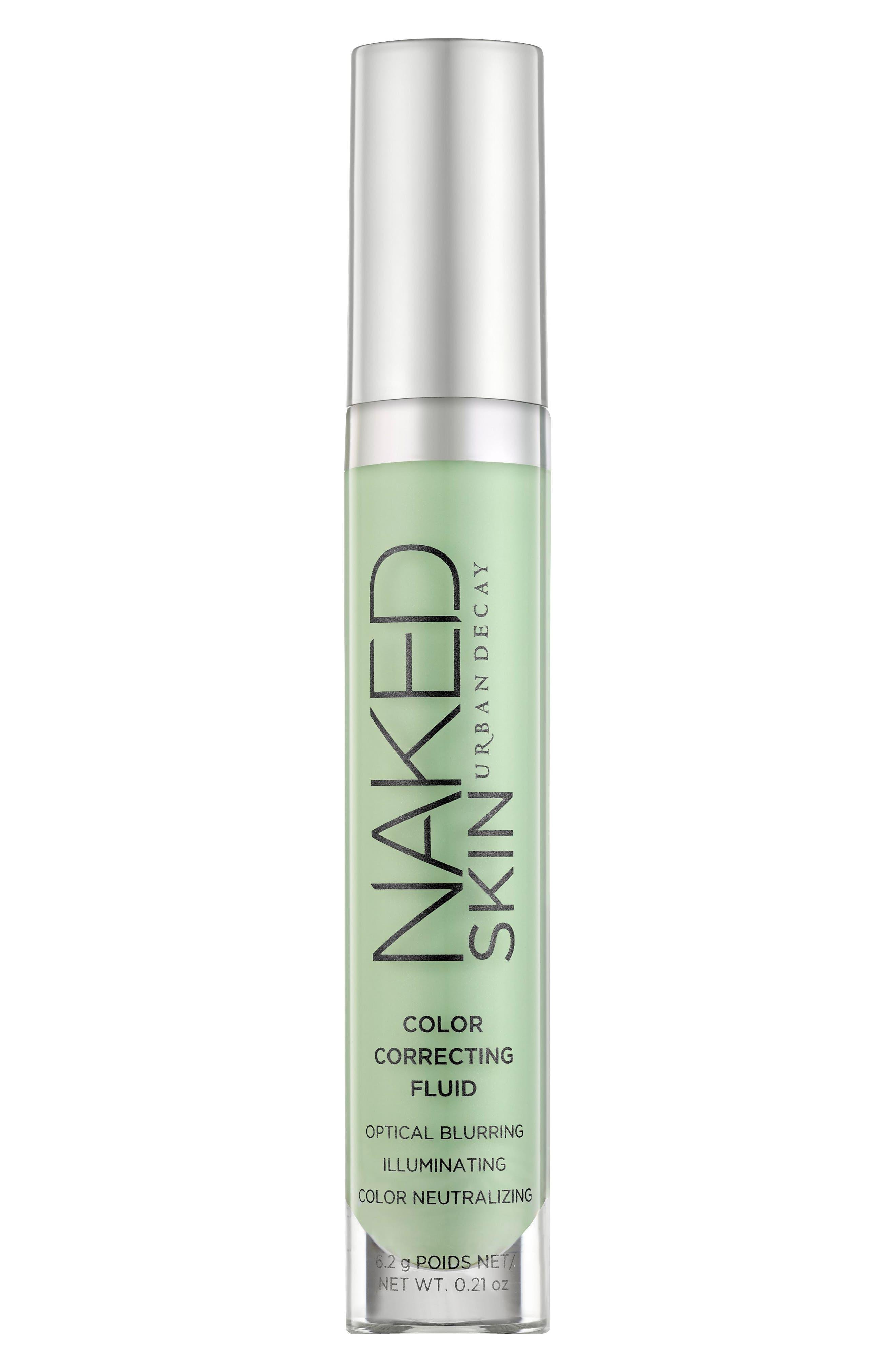 ,                             Naked Skin Color Correcting Fluid,                             Main thumbnail 1, color,                             GREEN