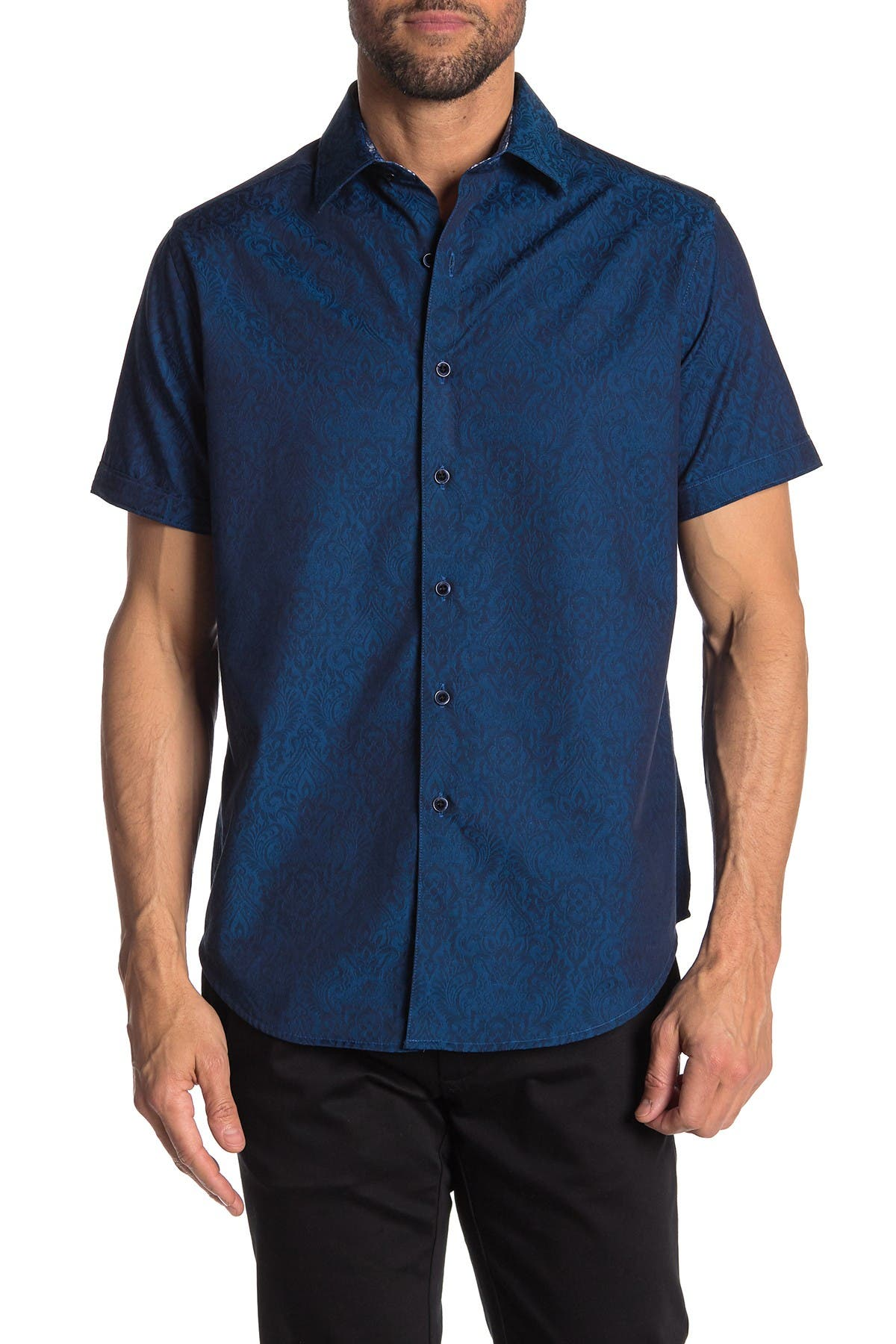 Image of Robert Graham Equinox Short Sleeve Classic Fit Shirt