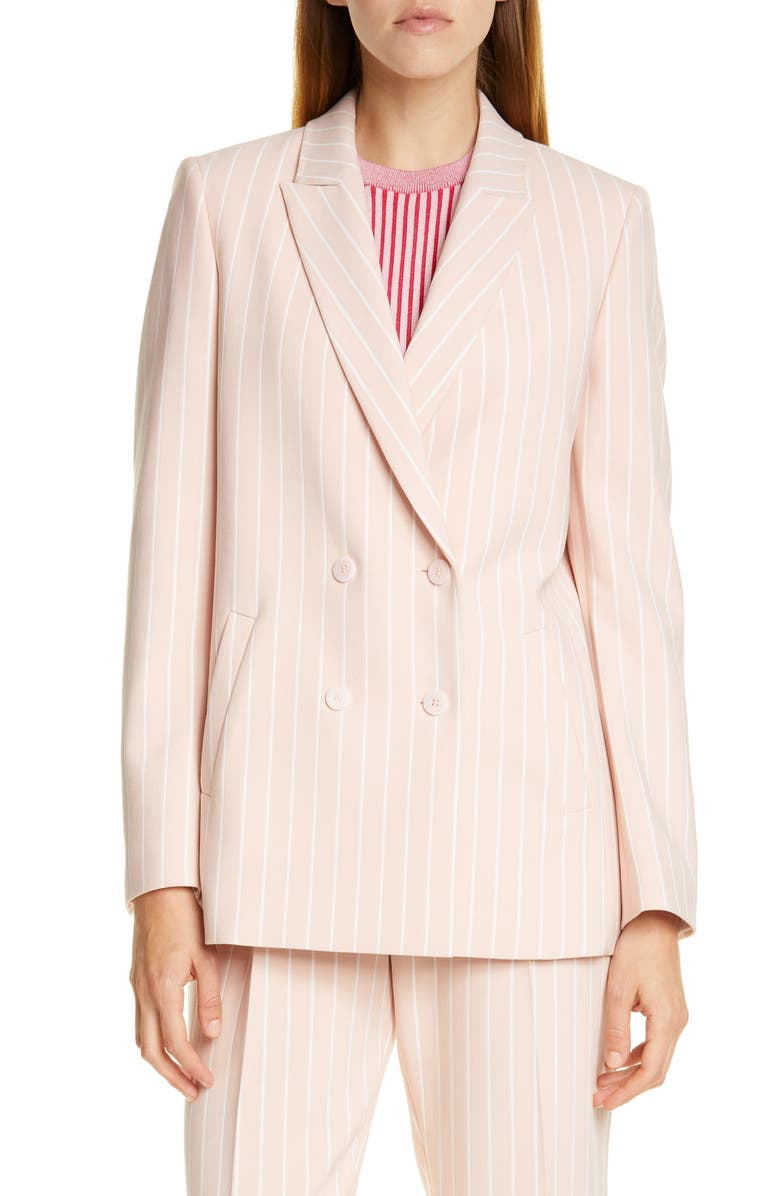 HUGO Akata Pinstripe Suit Jacket