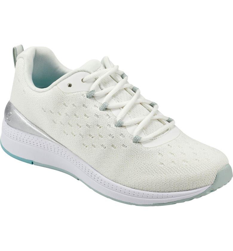 EVOLVE Easy Spirit Evolve Trot9 Sneaker, Main, color, WHITE KNIT