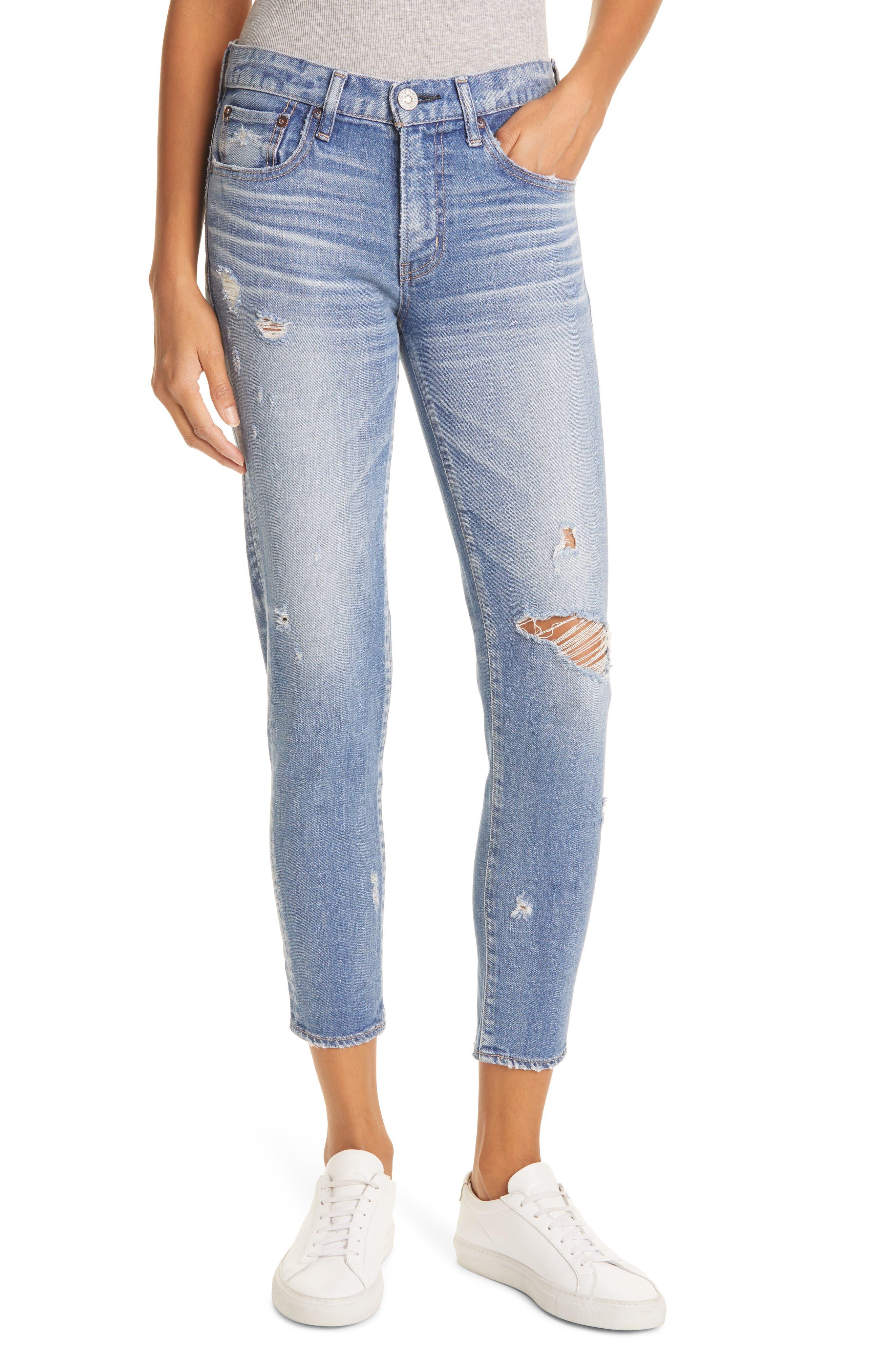 Gleedsville Distressed Skinny Jeans