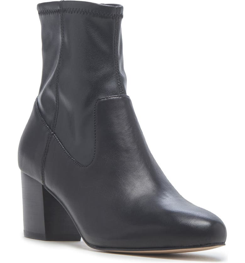 SOLE SOCIETY Pasil Bootie, Main, color, BLACK LEATHER