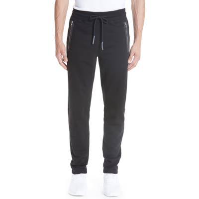 Moncler Cotton Sweatpants, Black