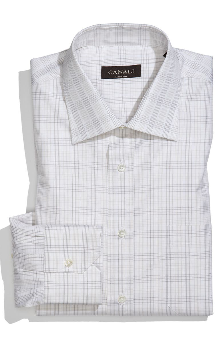 CANALI Regular Fit Dress Shirt, Main, color, 250