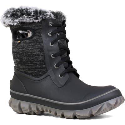 Bogs Arcata Insulated Waterproof Snow Boot, Black