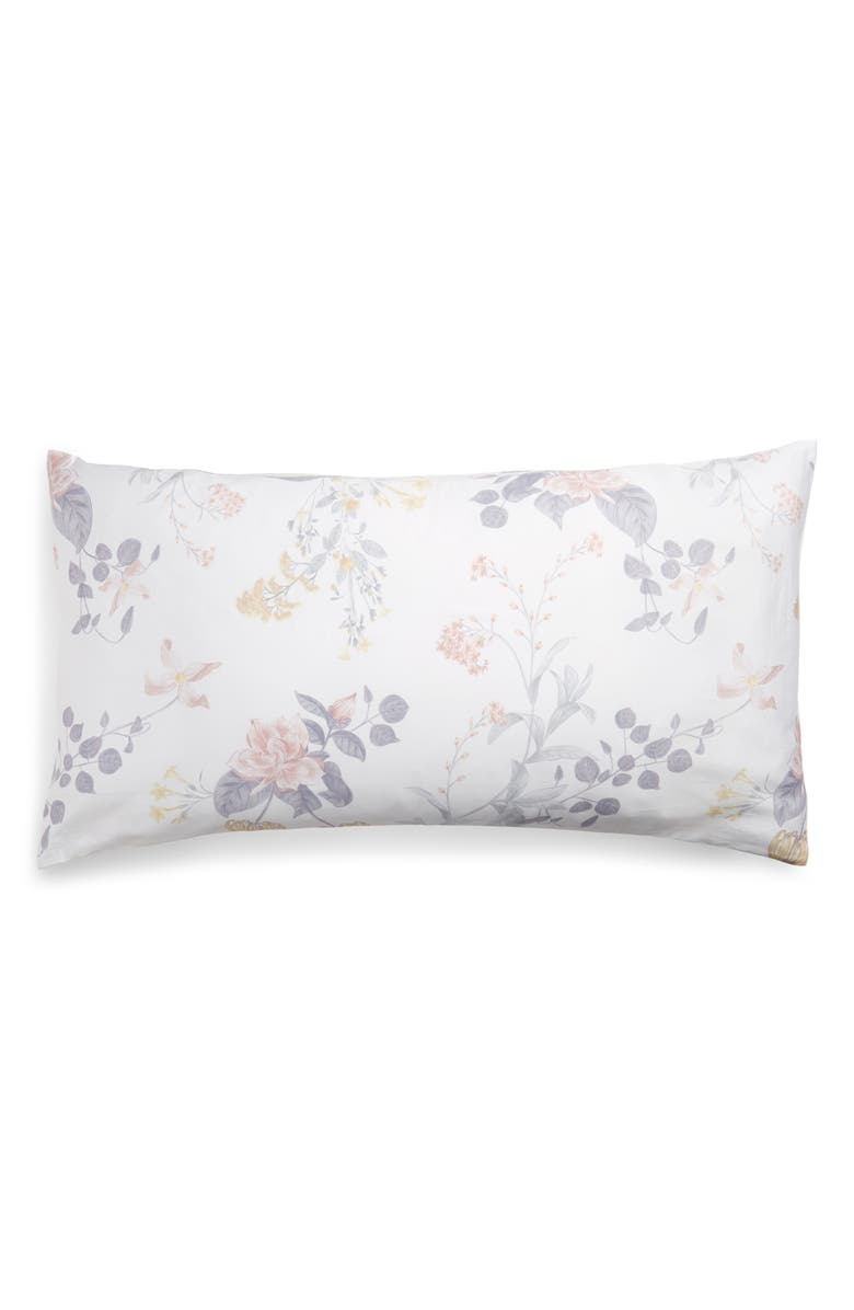 NORDSTROM Veronica Floral Print Pillow Sham, Main, color, PINK CREOLE FLORAL MULTI