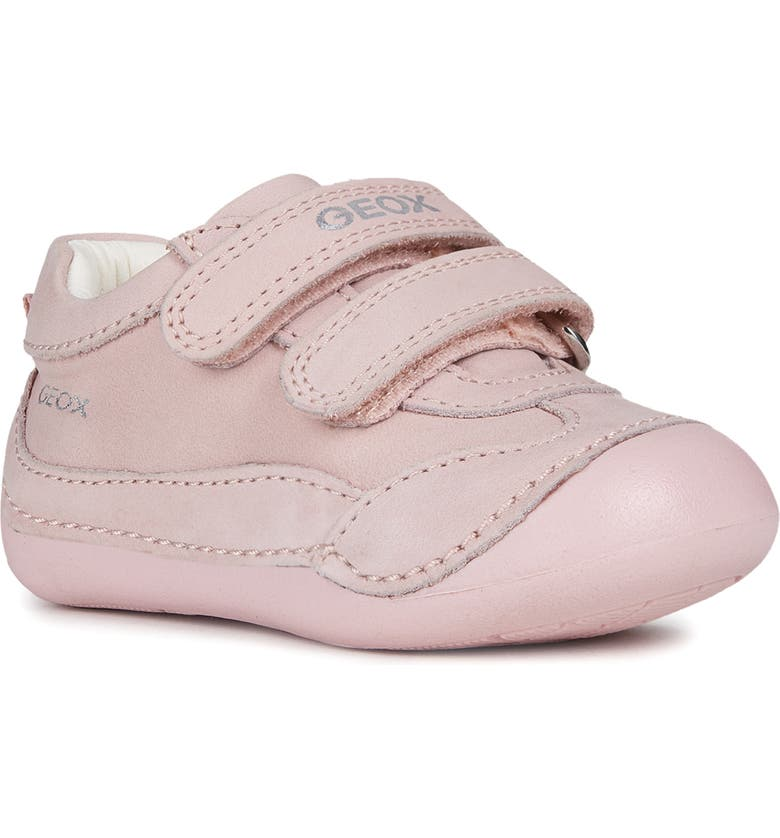 GEOX Tutim Sparkle Sneaker, Main, color, LIGHT PINK