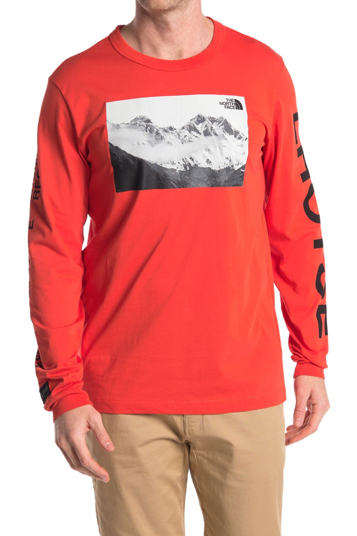 Image of The North Face Mountain Long Sleeve T-Shirt