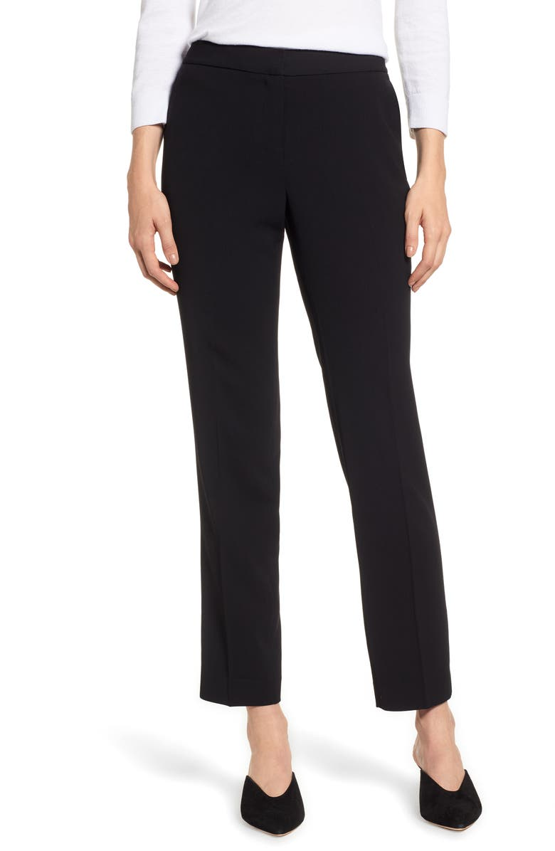 VINCE CAMUTO Textured Skinny Ankle Pants, Main, color, 006