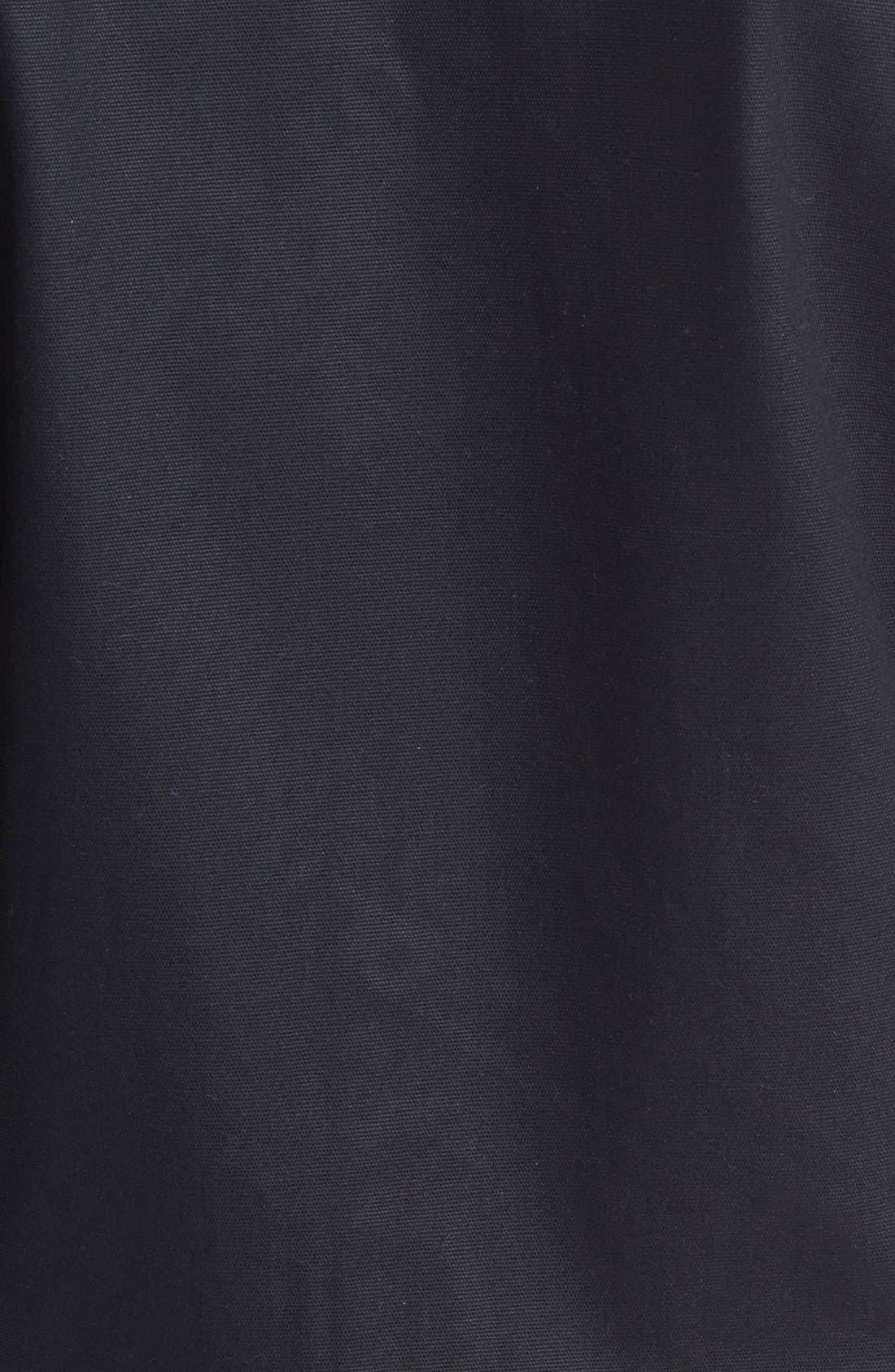 ,                             'Cooper' Bonded Cotton Poplin Jacket,                             Alternate thumbnail 5, color,                             001
