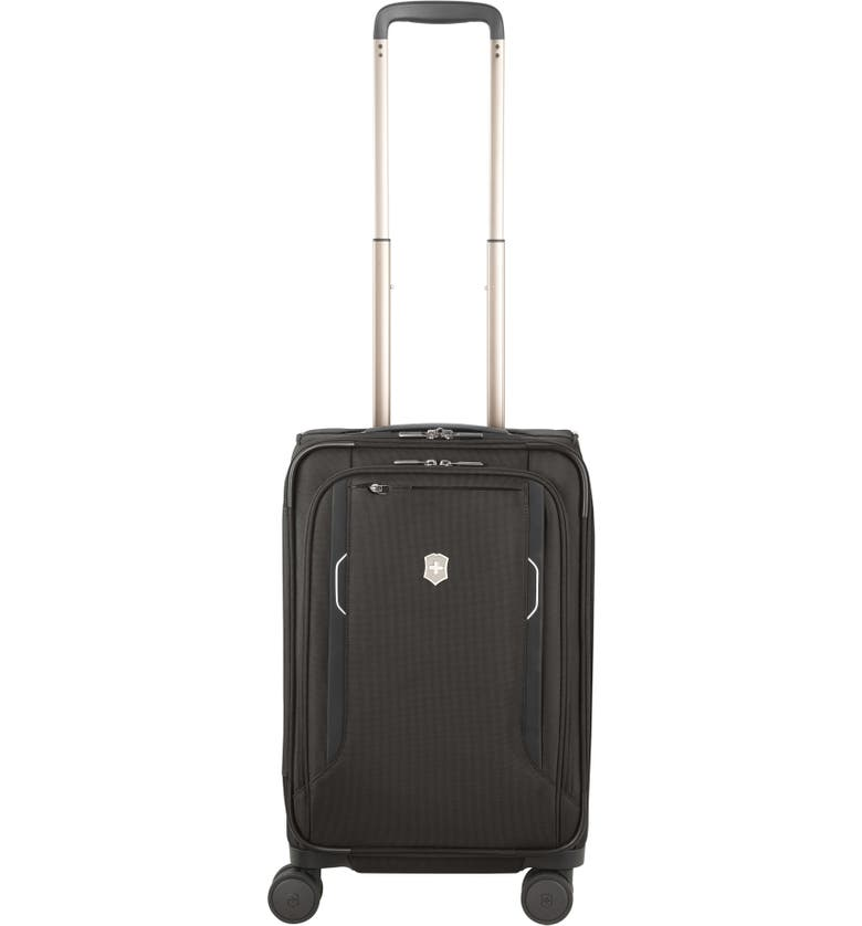 VICTORINOX SWISS ARMY<SUP>®</SUP> Werks 6.0 Frequent Flyer 22-Inch International Spinner Carry-On, Main, color, 001