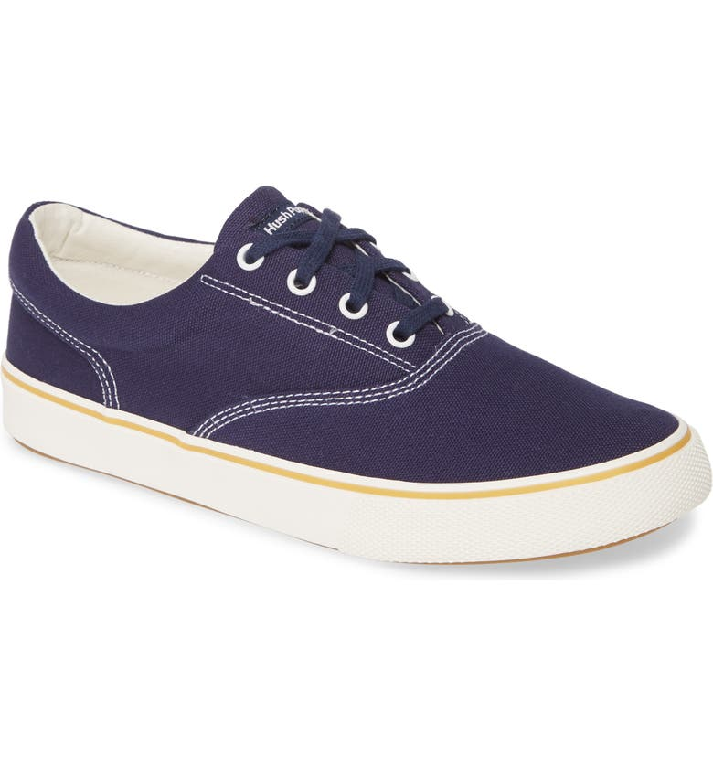 HUSH PUPPIES<SUP>®</SUP> Byanca Sneaker, Main, color, NAVY CANVAS
