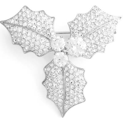 Nadri Mistletoe Pin