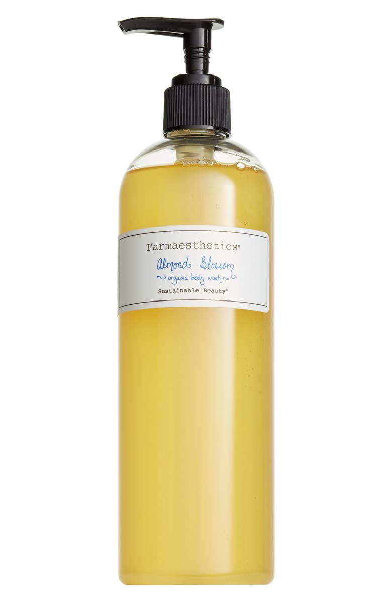 FARMAESTHETICS Almond Blossom Organic Body Wash, Main, color, 000