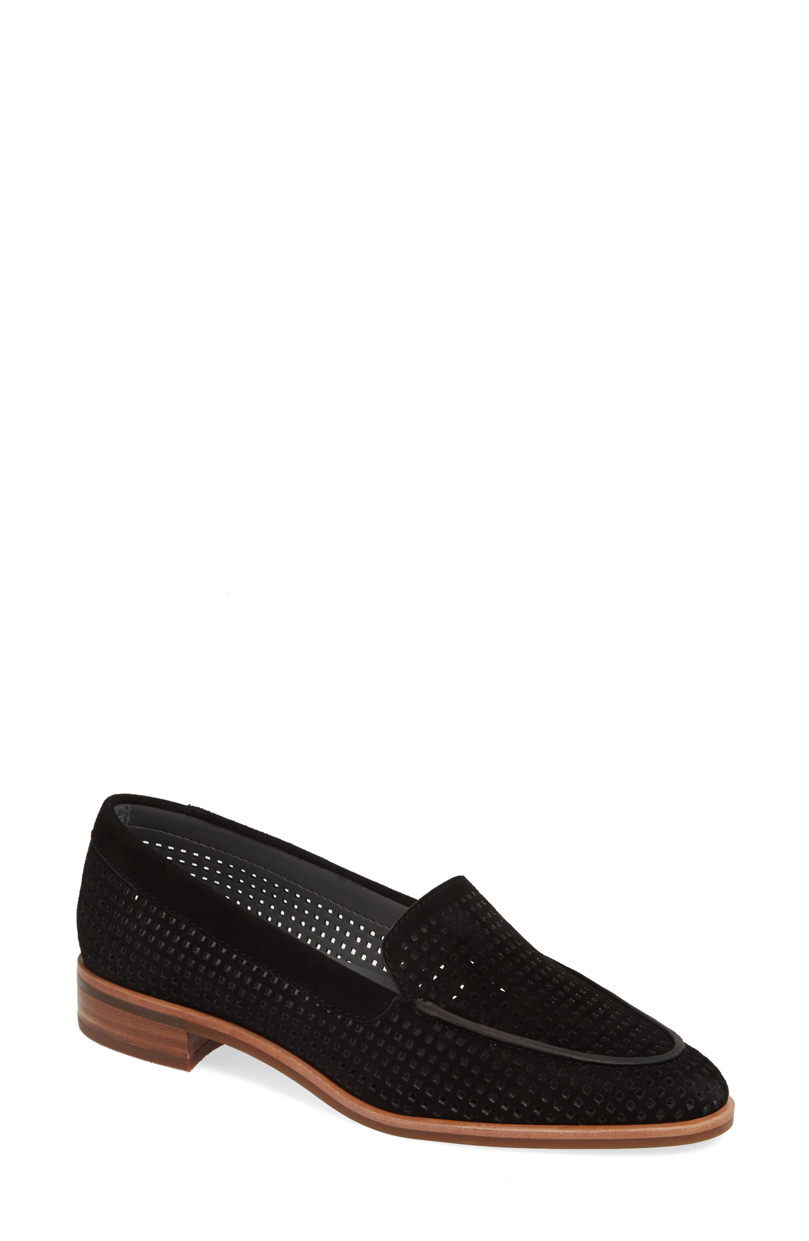 The Flexx Chelsea Peforated Loafer- Black