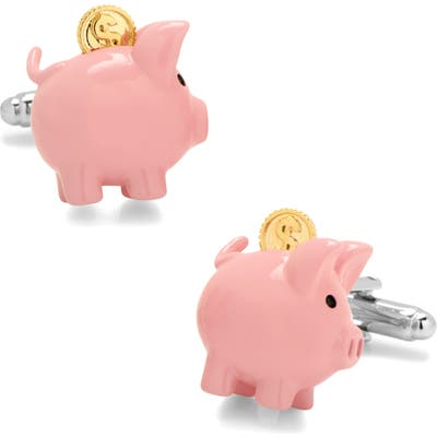 Cufflinks Inc. 3D Piggy Bank Cuff Links